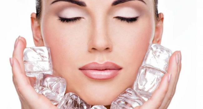 El nuevo tratamiento facial con hielo